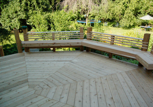 Enjoy a large deck for all your outdoor entertaining. Contact G&L and Sons Renovations today!