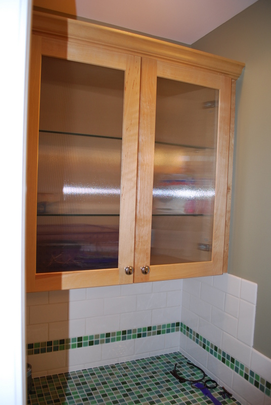 Here's an alternate view of a hall bathroom by G&L.